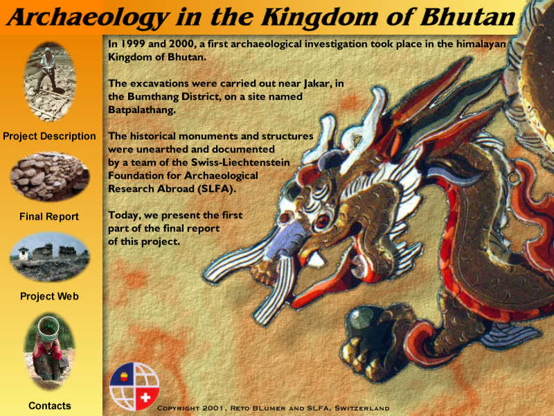 Archaeology in Bhutan 1999-2000